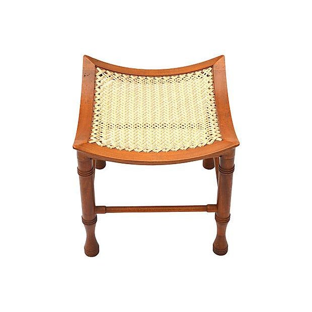 Liberty & Co. Liberty & Co. Thebes Stool For Sale - Image 4 of 5
