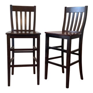 Pottery Barn Barstools - a Pair For Sale