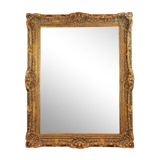 Traditional Large Hand-Carved Maitland Smith Mirror For Sale