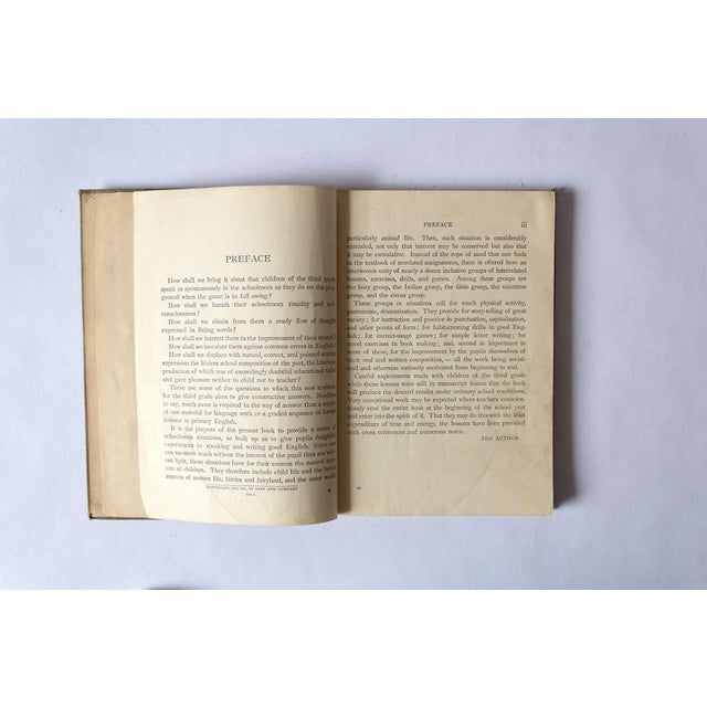 """1920s """"Oral and Written English"""" School Book For Sale In Dallas - Image 6 of 9"""