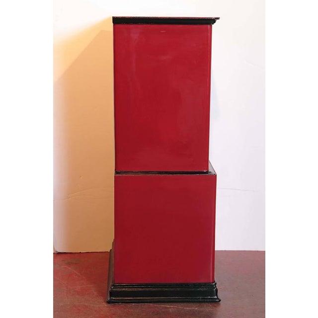 19th Century Parisian Iron Safe Box & Keys - Image 8 of 10