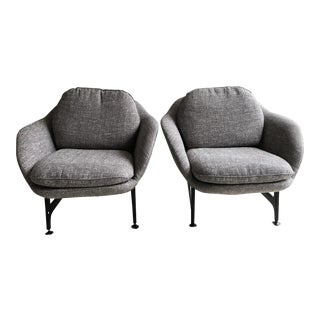 Cassina 399 Vico Armchairs - A Pair