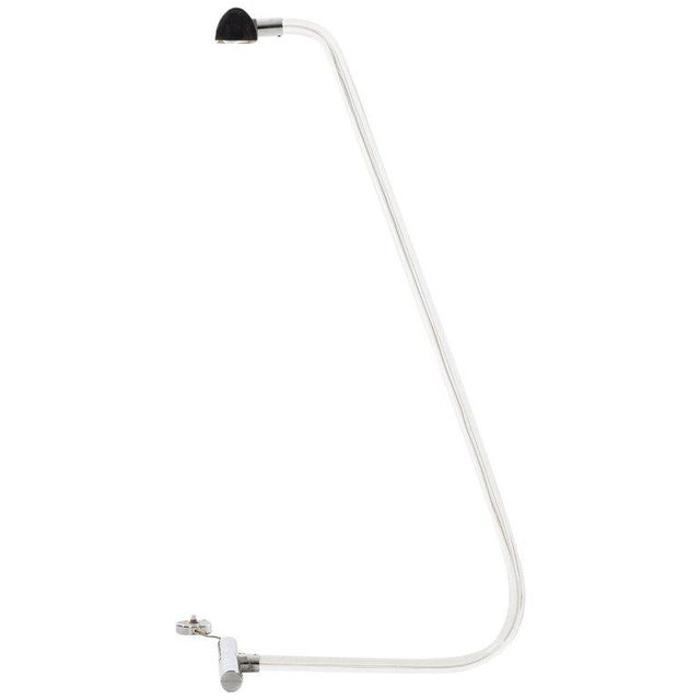 Metal Peter Hamburger for Knoll Crylicord Floor Lamp For Sale - Image 7 of 7
