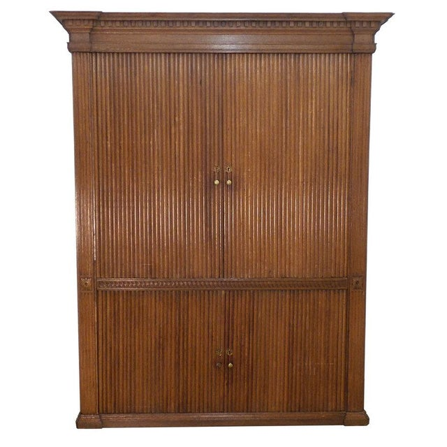 18th Century French Tambour Cabinet For Sale In New York - Image 6 of 6