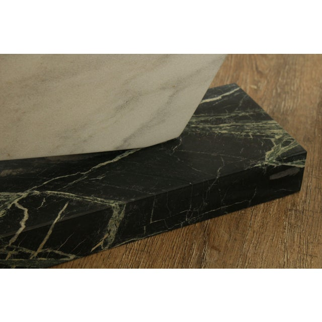Richard H. Bailey Geometric Marble Sculpture For Sale - Image 12 of 13