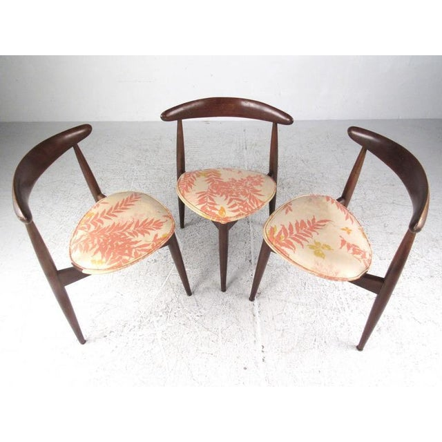 Hans Wegner Heart Chairs for Fritz Hansen For Sale - Image 10 of 10