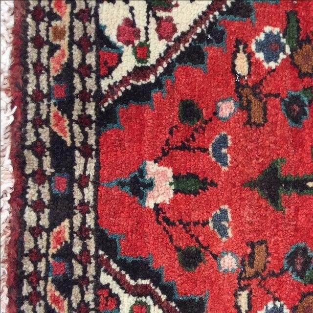 Vintage Hamadan Persian Rug - 1′8″ × 2′1″ - Image 6 of 9