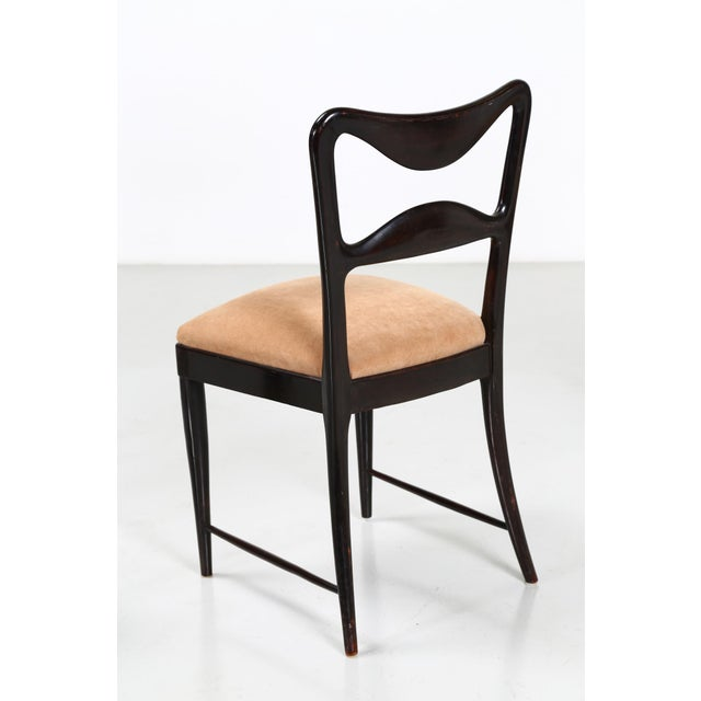 Mid 20th Century Osvaldo Borsani Dining Chairs Set From 1940 For Sale - Image 5 of 7