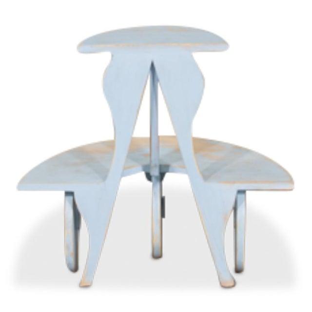Sarreid Ltd Demilune Side Table - Image 4 of 5