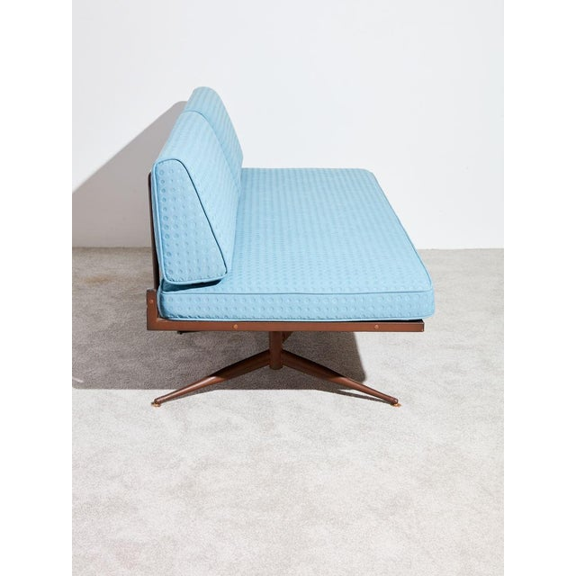 1950s Baumritter Upholstered Daybed Sofa For Sale - Image 5 of 8