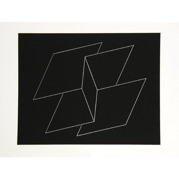 "Josef Albers ""Portfolio 2, Folder 10, Image 2"" Print - Image 2 of 4"