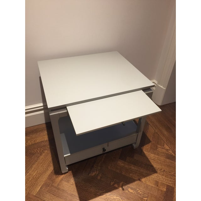 Contemporary Ballard Design Side Table For Sale - Image 3 of 7