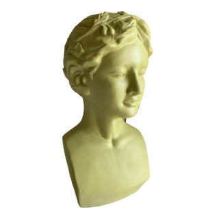 Ceramic Pop Art Female Goddess Bust of a Woman For Sale