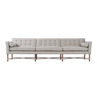 1950s Mid-Century Modern Harvey Probber Criss-Cross Sofa