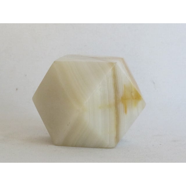 Geometric Onyx Paperweight - Image 4 of 5
