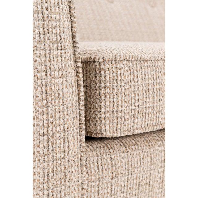Fabric Paul McCobb Pagoda Sofa For Sale - Image 7 of 9