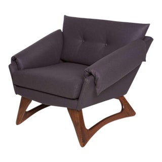 1960's Vintage Adrian Pearsall Lounge Chair For Sale