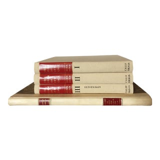 Late 20th Century Coffee Table Books, 7th and 18th Century European Architecture and Economic Life - Set of 4 For Sale