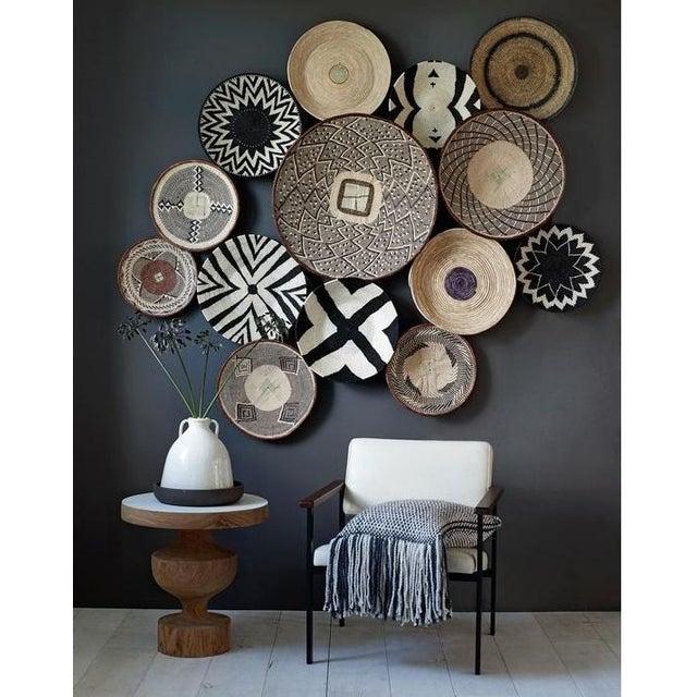 Binga Basket | Tonga Baskets 42 |African Basket | Woven Basket |Zimbabwe Basket |Ethnic Pattern |Ethnic Decor |Wall Hanging Basket - Image 4 of 6