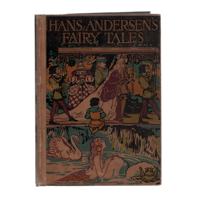 """Booth & Williams 1923 """"Hans Andersen's Fairy Tales"""" Collectible Book For Sale - Image 4 of 4"""