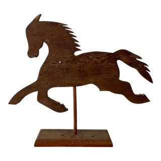 Folk Art Wooden Horse