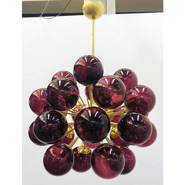 Fabio Ltd Ventiquattro Sputnik Chandelier by Fabio Ltd For Sale - Image 4 of 12