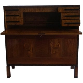 Mid-20th Century Swedish Secretary Desk by A.B. Svenska Moebel Fabrikerna 'Smf' For Sale