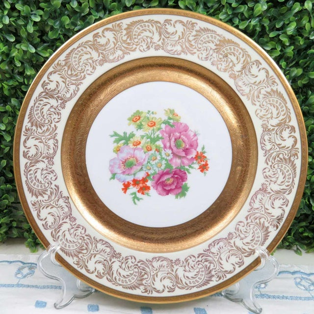 """Vintage Wheeling 11"""" Dinner Plate or Charger For Sale In Washington DC - Image 6 of 6"""