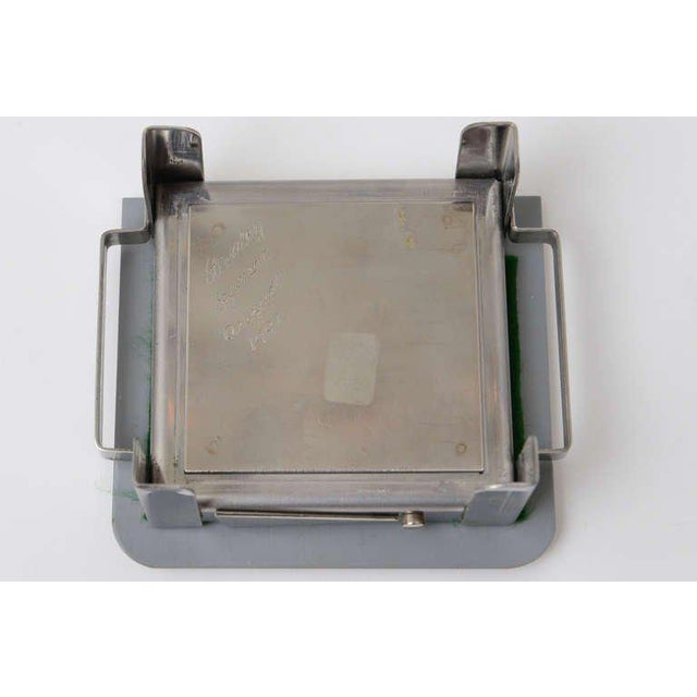 Stanley Szwarc Sculptural Stainless Steel Hinged Box For Sale - Image 10 of 11