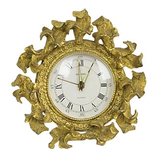 Ornate Ormulu Clock For Sale