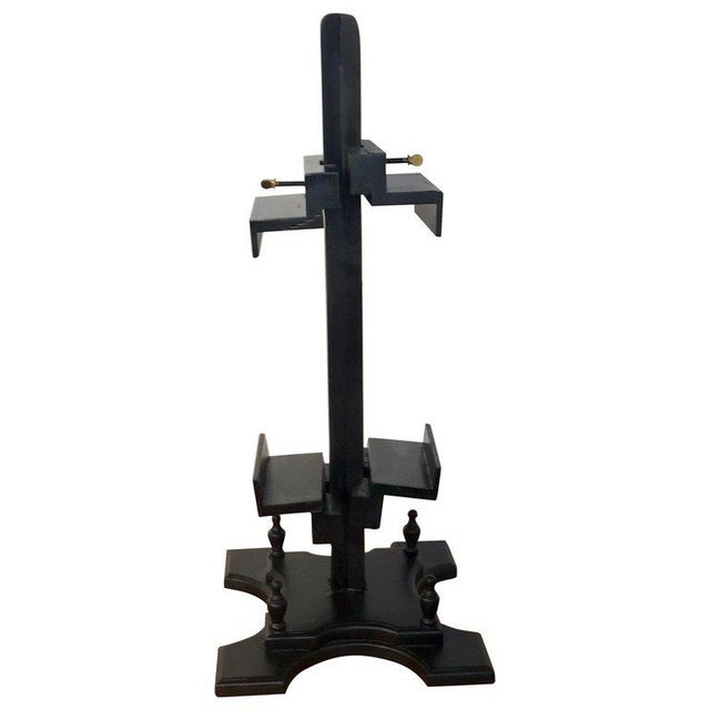 Regency Style Ebonized Dual Sided Table Easel For Sale - Image 11 of 11