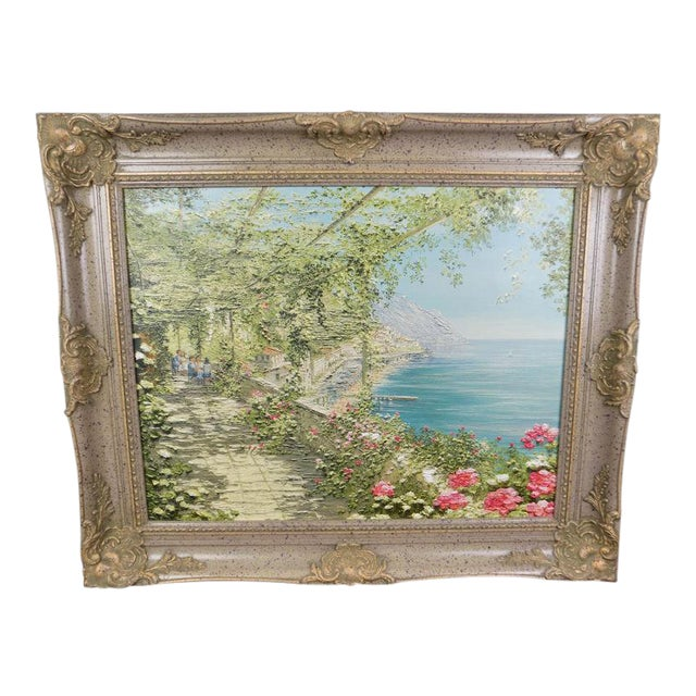 Liliana Frasca 'Amalfi' the Museum Shop Brushstrokes Collection Print For Sale