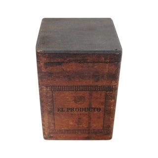 Vintage El Producto Queens Cigar Box