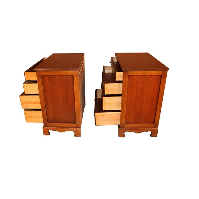 Pair American Permacraft Bachelor's Chests For Sale - Image 11 of 12