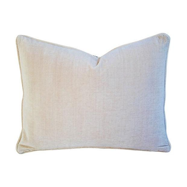 """23"""" X 18"""" Custom Tailored French Country Toile Feather/Down Pillow - Image 2 of 4"""
