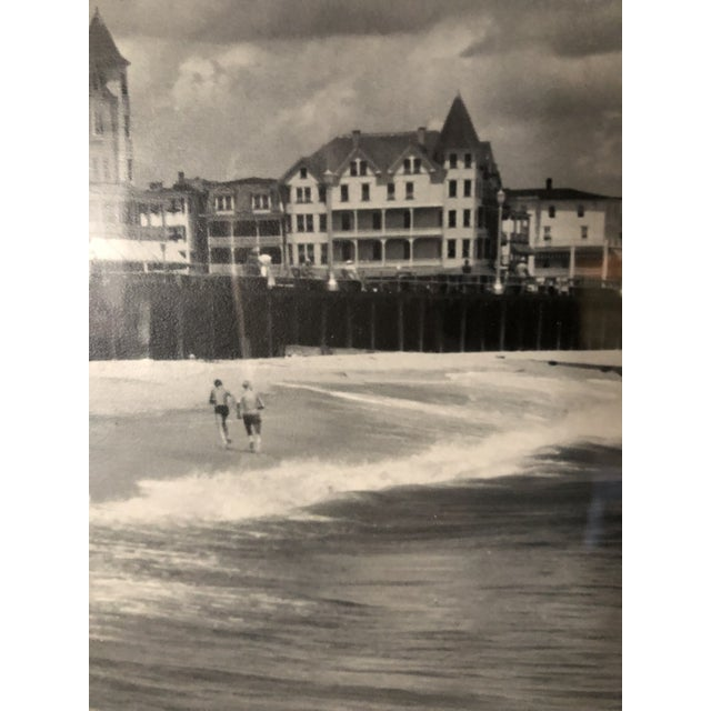 Vintage Black and White Photograph of Ocean Grove, New Jersey For Sale - Image 9 of 13
