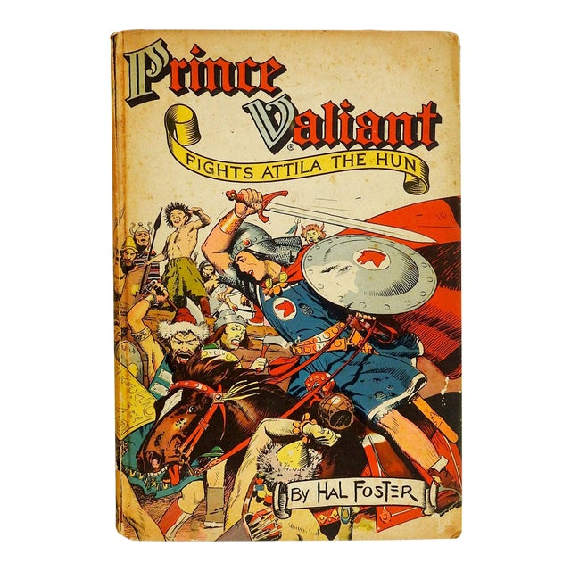 """Prince Valiant Fights Attila the Hun"" 1952 Graphic Novel For Sale"