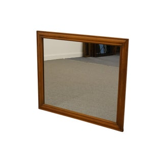 Ballman Cummings Solid Maple Colonial Style Mirror For Sale
