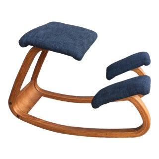 1960s Vintage Westnofa Rocking Knee Chair For Sale