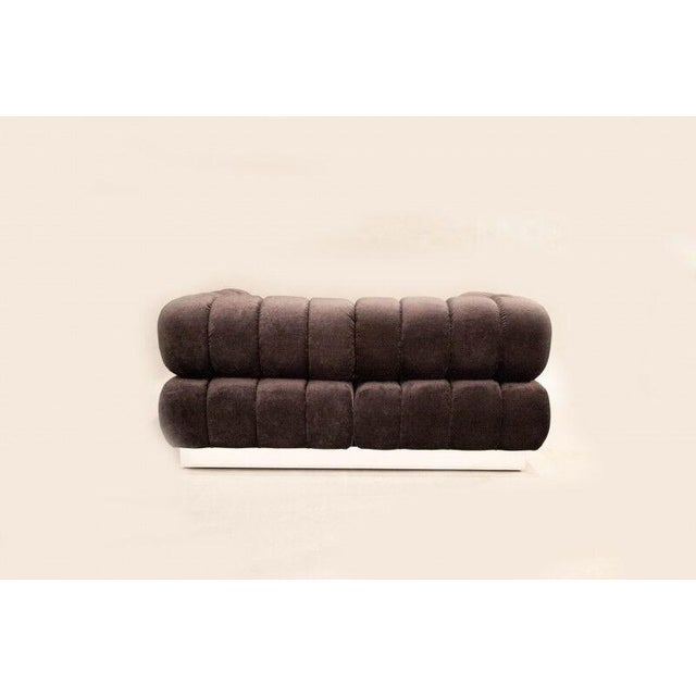 2015 USA Todd Merrill Custom Original The Extended Back Tufted Sectional For Sale In New York - Image 6 of 11