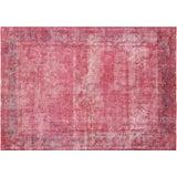 "Image of Nalbandian - 1950s Overdyed Persian Kerman Carpet - 7'4"" X 10'3"" For Sale"