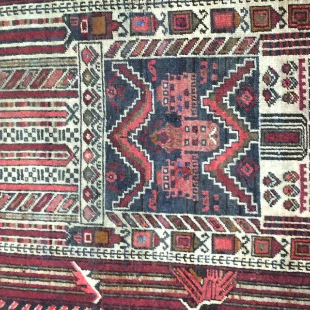 "Turkaman Persian Rug, 2'5"" x 4'1"" - Image 6 of 8"