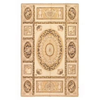 Pasargad Modern Aubusson Rug - 4′8″ × 7′7″ For Sale