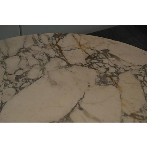 Marble Top Gueridon Center Table For Sale - Image 11 of 12