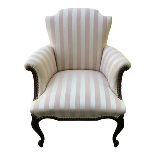 Late 20th Century Striped Perfection Chair