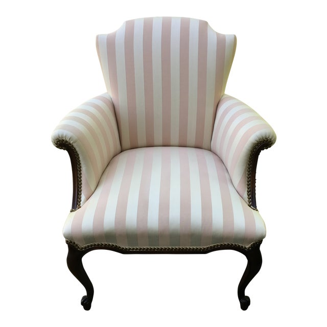 Late 20th Century Striped Perfection Chair For Sale