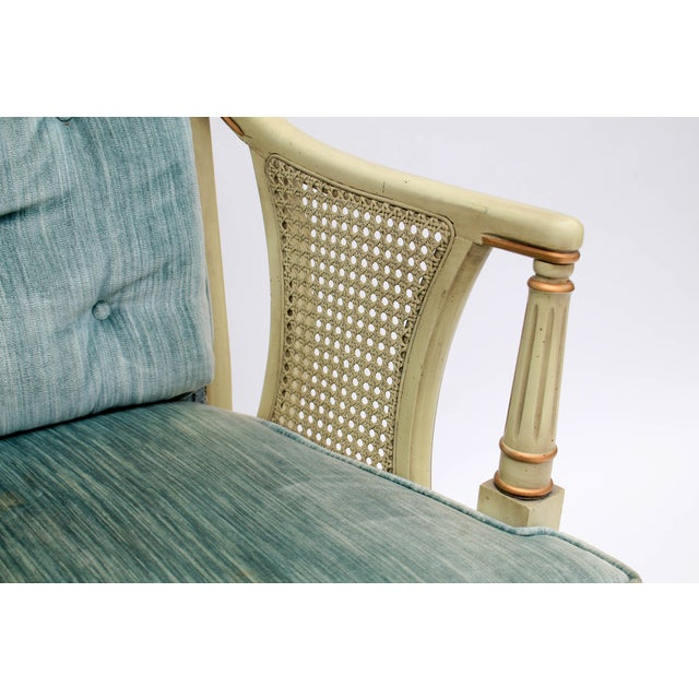 Caned Accent Chair - Image 7 of 9