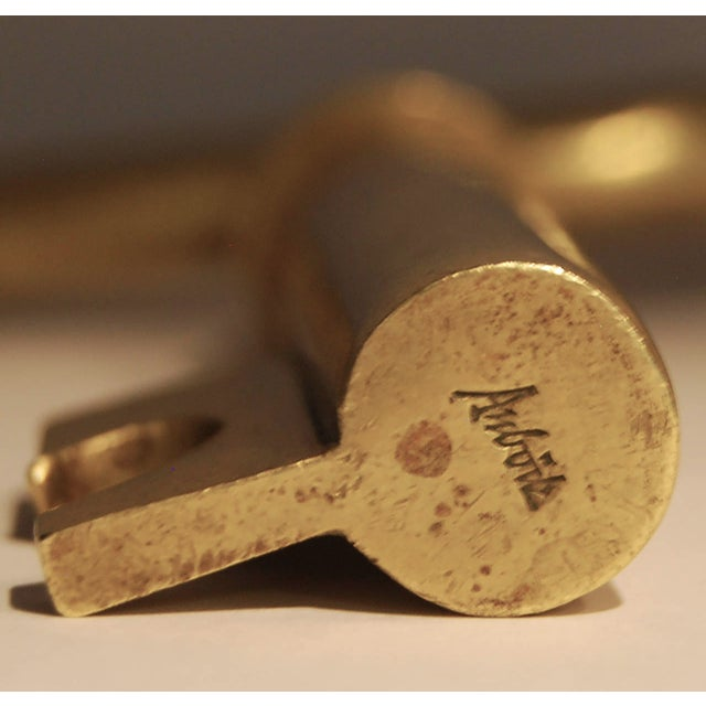 Carl Auböck Corkscrew Key For Sale - Image 4 of 4