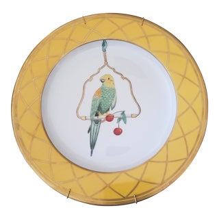 Alberto Pinto Parrot Plate For Sale