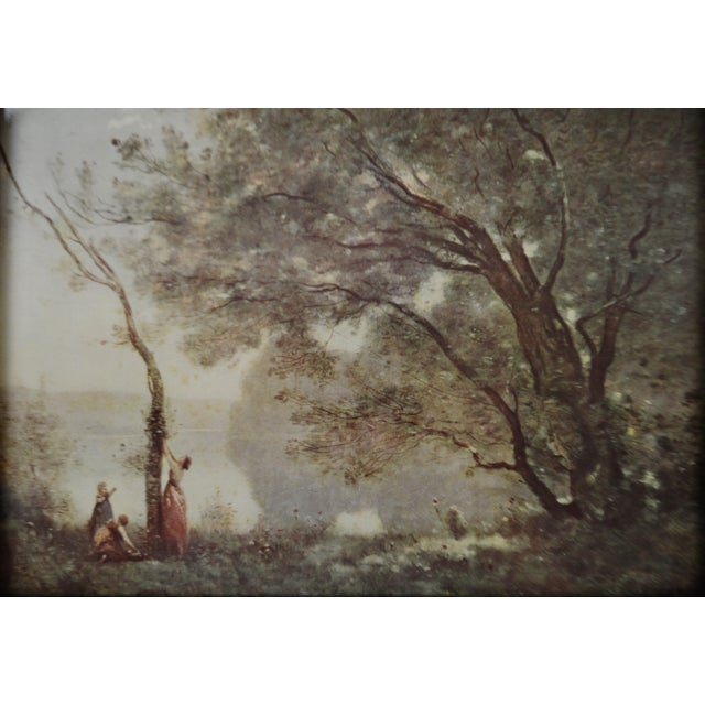 Jean Baptiste Camille Corot Framed Prints - A Pair For Sale - Image 4 of 10